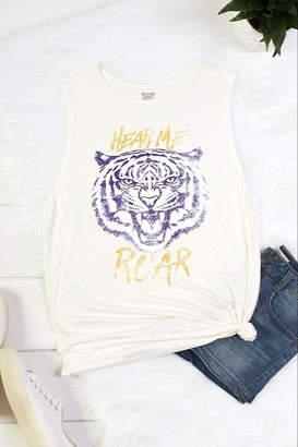 Color Bear Hear Me Roar Tank