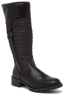 Aquatherm By Santana Canada Vivi Quilted Tall Winter Boot