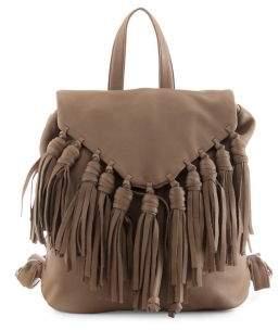 Day & Mood Lee Fringe Leather Backpack