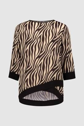 8f9c70b7c9b Zebra Print Tops For Women - ShopStyle UK