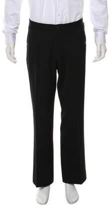 Gucci Flat Front Wool Pants