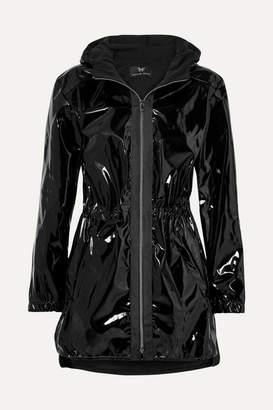Heroine Sport - Hooded Vinyl Jacket - Black