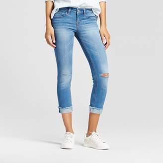 Dollhouse Women's Slit Knee Step Hem Crop Jeans - (Juniors') $32.99 thestylecure.com