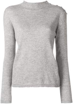 Liu Jo mock knit sweater