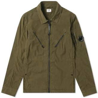 C.P. Company Cotton Nylon Arm Lens Shirt Jacket