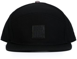 Diesel logo patch cap $50.77 thestylecure.com