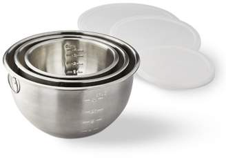Williams-Sonoma Williams Sonoma Stainless Steel Mixing Bowls with Lids, Set of 3
