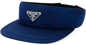 Prada Men's Solid Nylon Visor