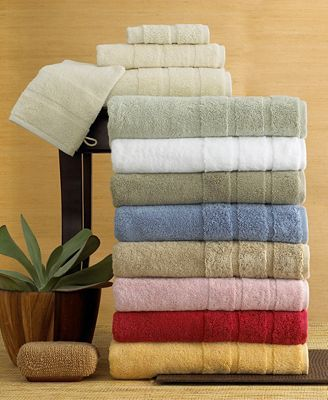 CLOSEOUT! Lauren by Ralph Lauren Towels, Spa Organic Collection