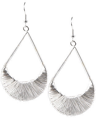 Wire Teardrop Earring