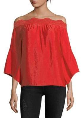 Ramy Brook Pria Off the Shoulder Top