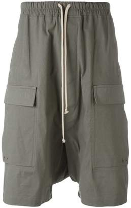 Rick Owens Pod cargo shorts
