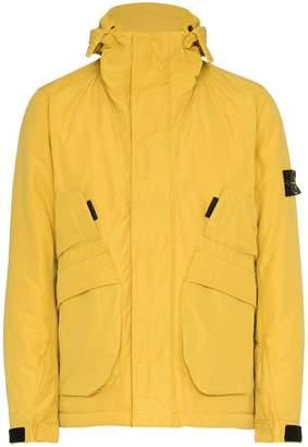 Stone Island waterproof hooded jacket