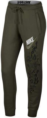 Nike Sportswear Rally Floral-Print Fleece Joggers