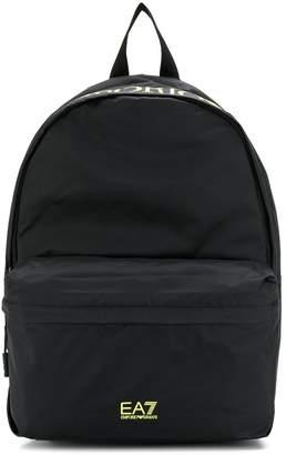 Emporio Armani Ea7 printed logo backpack