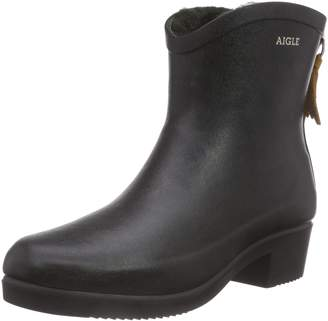 Aigle Miss Juliette Bottilon Fur Rubber Boot