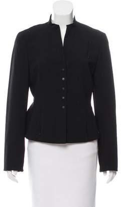 Akris Punto Structured Wool Jacket