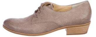 Paul Green Perforated Suede Oxfords
