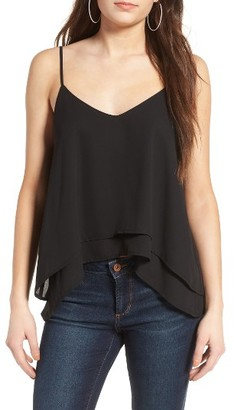 Women's Bp. Layered High/low Hem Tank $39 thestylecure.com