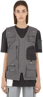 Workwear Cotton Canvas Utility Vest