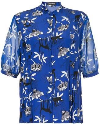 Markus Lupfer floral print blouse
