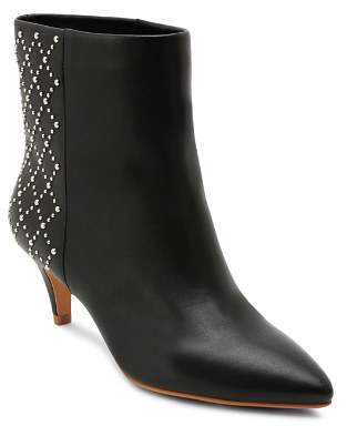 Dolce Vita Women's Dot Studded Kitten Heel Booties