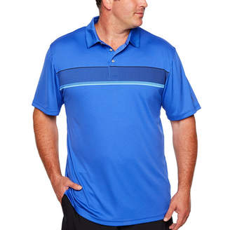 PGA Tour TOUR Easy Care Short Sleeve Stripe Polo Shirt Big and Tall