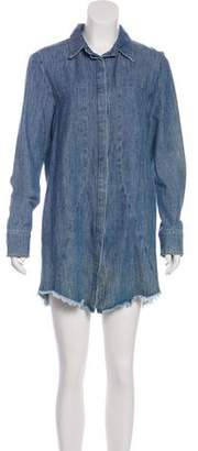RtA Denim Denim Mini Dress