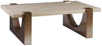 Artistica Impresario Coffee Table - Silver Leaf