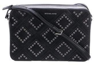Michael Kors Grommet Leather Crossbody Bag
