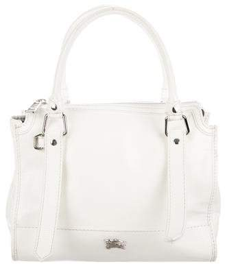 Burberry Patent Leather Satchel