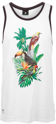 Lrg Men's Graphic-Print Birdwatcher Tank Top