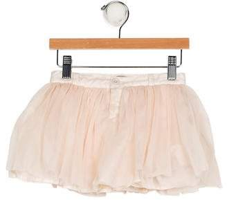 Emile et Ida Girls' Tulle Flared Skirt