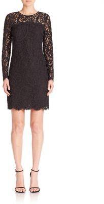 MICHAEL MICHAEL KORS Long Sleeve Lace Dress $225 thestylecure.com