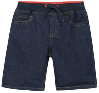 Kenzo 2-6Y Denim Bermuda Shorts