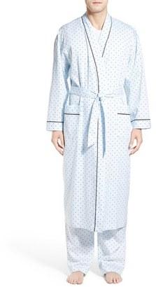 Men's Majestic International 'Twilight Blue' Cotton Robe $70 thestylecure.com