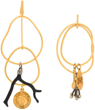 Sonia Rykiel mismatched earring set
