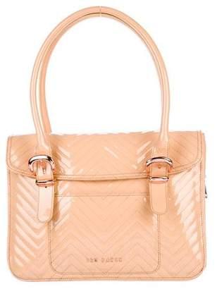 Ted Baker Quilted Patent Leather Shoulder Bag