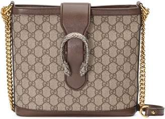 Gucci Medium Dionysus Supreme Canvas Shoulder Bag