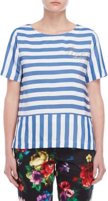 Love Moschino Stripe Blouse