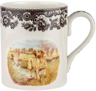 Spode Woodland Hunting Dogs Yellow Lab Mug