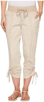 Jag Jeans Kensie Knit Waist Poplin Crop Women's Capri