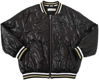 Stella McCartney Stars Quilted Nylon Bomber Jacket