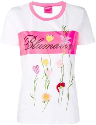 Blumarine flower appliqué T-shirt