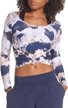 Onzie Knotted Crop Top