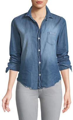 Frank And Eileen Barry Long-Sleeve Button-Front Denim Shirt