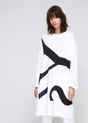 Yohji Yamamoto Y's by Large Scale Logo Tee