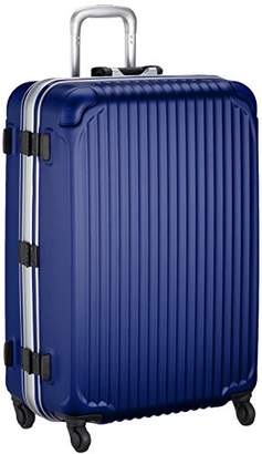Siffler (シフレ) - [シフレ] ハードフレームスーツケース シフレ 1年保証付 保証付 90L 75 cm 5.5kg ESC1045-68 マットネイビー