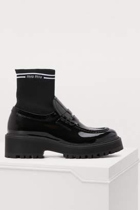 Miu Miu Sock loafers