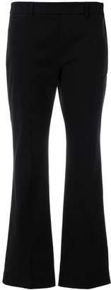Incotex bootcut trousers